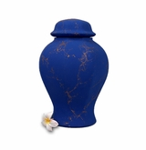 Sapphire Biodegradable Sea Cremation Urn