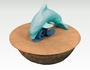 Serenity Dolphin Biodegradable Water Burial Cremation Urn