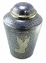 Silver Angel Brass Cremation Urn