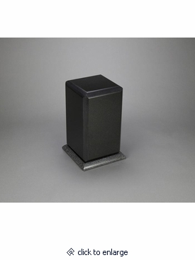 simplicity nero absoluto granite cremation urn. Black Bedroom Furniture Sets. Home Design Ideas