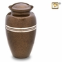 Speckled Auburn Cremation Urn