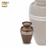 Speckled Auburn Keepsake Cremation Urn