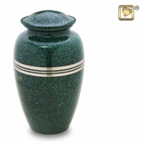 Speckled Emerald Cremation Urn