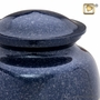 Speckled Indigo Cremation Urn