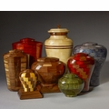 Steve Shannon Collection Wood Cremation Urn Collection