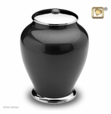 Tall Simplicity Midnight Brass Cremation Urn