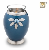 Tealight Candle Nirvana Azure Keepsake Cremation Urn