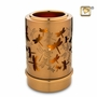 Tealight Candle Reflections of Spirit Brass Keepsake Cremation Urn