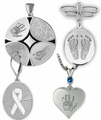 Thumbies 3D Fingerprint & Handprint Keepsake Memorial Jewelry