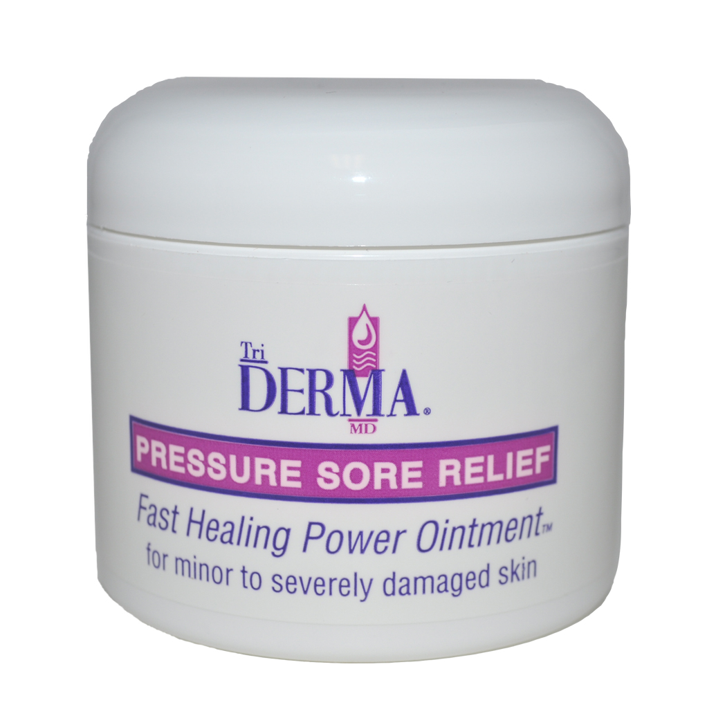 Triderma md pressure sore relief bed sore treatment for Bed sore relief