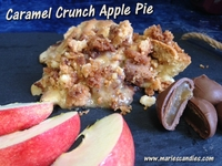 Caramel Crunch Apple Pie
