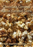Chocolate Covered Bacon Caramel Corn