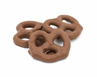 Milk Chocolate Pretzels - 1/2 lb.