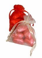 Chocolate Heart Pouch - 1.75 oz.