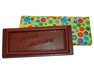 Chocolate Message Bars