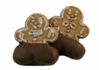 Chocolate Pants Gingerbread Men (2-piece) - 1 oz.