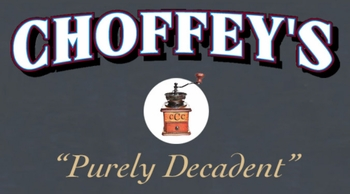 Choffey's Coffee & Confection<br>17 W. Winter St.<br> Delaware, OH 43015<br>740-417-9406