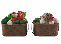 Christmas Chocolate Basket - 4 oz.