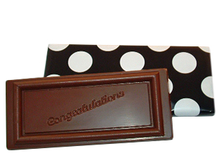 Chocolate Congratulations Bar - 5 oz.