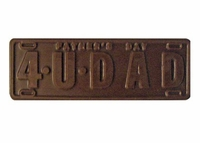 Dad License Plate - 2 oz.