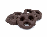 Dark Chocolate Pretzels - 1/2 lb.
