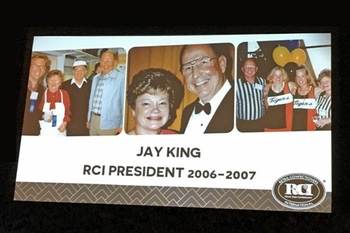 Marie's Owner Recognized at RCI Convention<br> June 2017