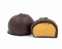 Dark Chocolate Mo'Cafe Creams - 1 lb.