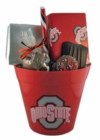 Ohio State Popcorn Bucket - 26 oz.