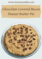 Peanut Butter Bacon Pie