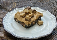 Peanut Butter Fancy Brownies