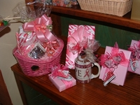 Pink Gifts to Fight Cancer October 2014
