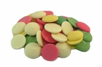 Rainbow Coating Wafers - 1/2 lb.