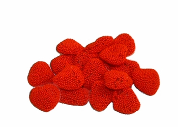 Red Raspberry Hearts - 1/2 lb.