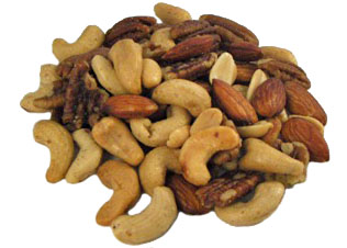 Roasted & Salted Nuts - 1/2 lb.