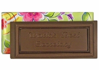 Chocolate Secretary  Bar - 4.75 oz.
