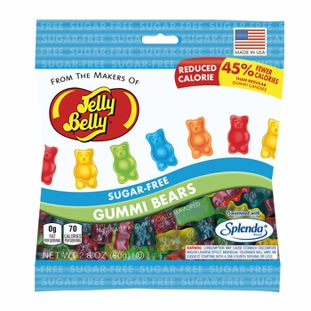 Sugar-Free Gummi Bears - 2.8 oz.