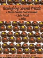 Thanksgiving Caramel Pretzels