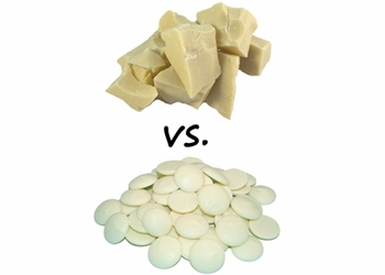 White Chocolate vs. White Coating