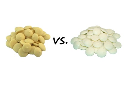 White Chocolate Vs White Coating