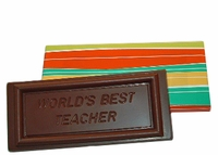 World's Best Teacher Bar - 5 oz.