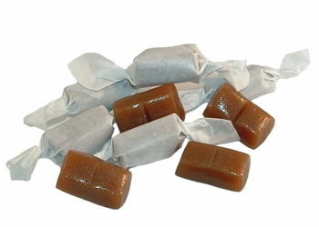 Wrapped Caramels - 1 lb.
