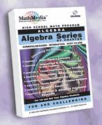 Algebra By Chapter Series - License for up to 20 Computers