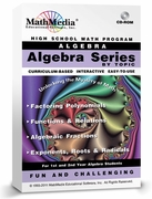 Algebra Software by Topic<br>(Set of 4 Programs)