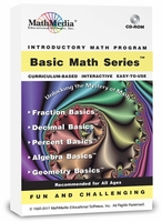 Basic Math Software Series<br>(5 Programs)