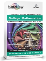 CLEP Test Preparation Software<br>College Mathematics
