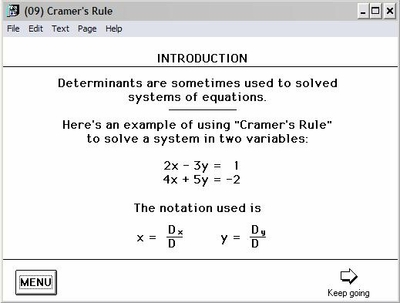 Cramer's Rule - Explained