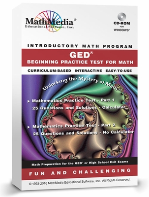 GED - Beginning Practice Math Test