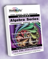 "High School Algebra Series with ""Algebra Basics"" (Pre-Algebra)"