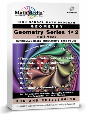 High School Geometry Series FULL YEAR<br>Bundle Price for All 7 Programs