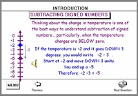 Learn signed numbers using various perspectives!